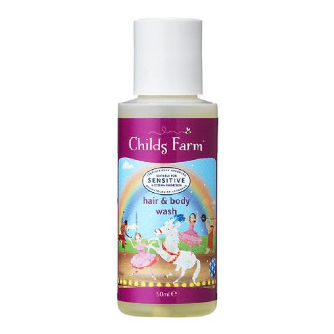 Childs Farm Travel Size Blackberry & Apple Hair & Body Wash